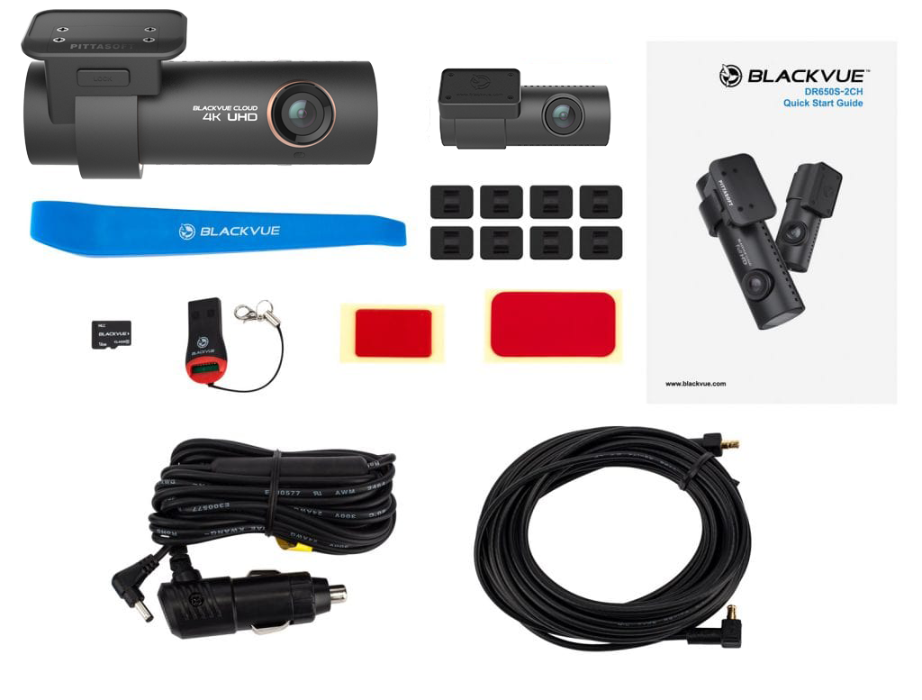 BlackVue DR900S - Accessories