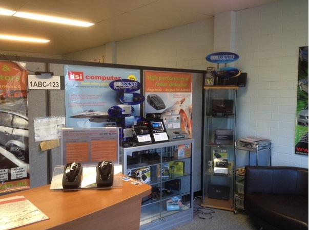 Radar detector superstore Perth Australia.