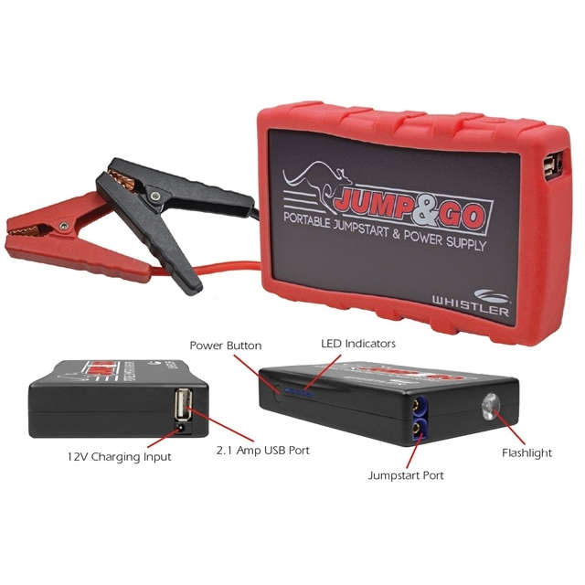 A) Whistler Jump and Go - Portable Jump Start and Power Supply
