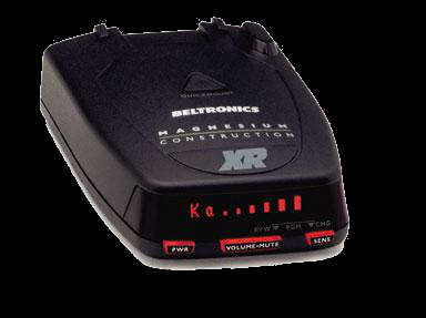 Beltronics STI detector.