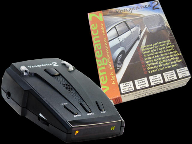 Buy Vengeance2 Radar Detectors in Australia